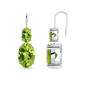 Oval-Peridot-Dangle-Earrings-in-14k-White-Gold