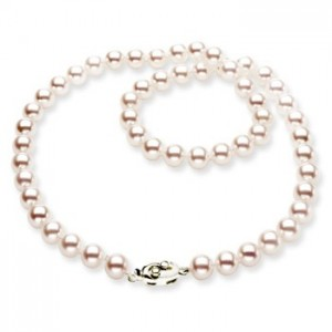 Round-Akoya-Cultured-Pearl-Necklace-in-14k-White-Gold