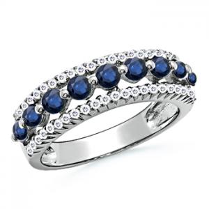 The nine-stone ring