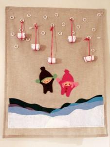 Snowing Presents Advent Calendar