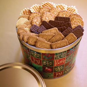 Grand Peace and Joy Tin with Biscoff
