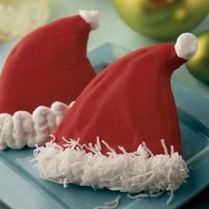 santa-hat-sugar-cookies