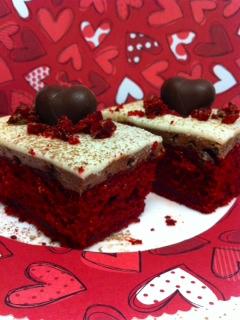 Red Velvet Chocolate Mousse Cake