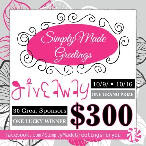 Simply Made Greetings Giveaway