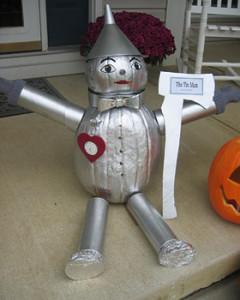 Tin Man Pumpkin