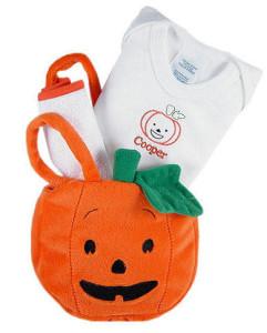 Baby's First Halloween Pumpkin