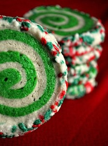 Colorful Swirl Cookies