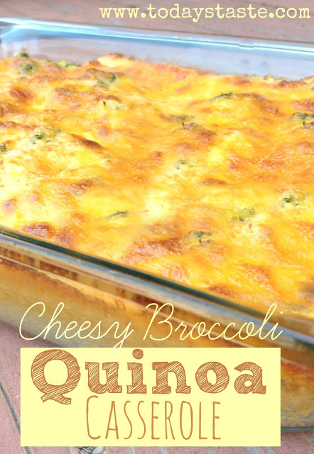 broccoli cheese quinoa