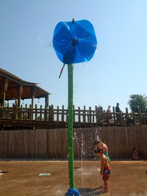 knoxville zoo splash pad