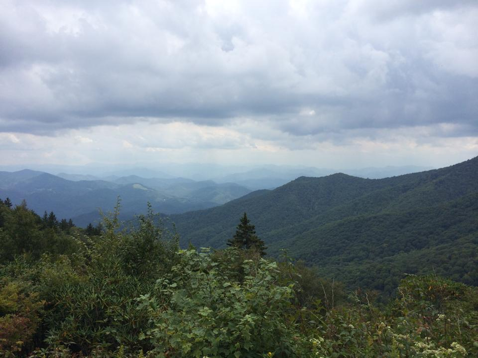 Labor Day Weekend On Blue Ridge Parkway: Day 1