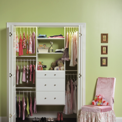 Creative Ways To Organize Your Child's Closet