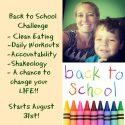 Back to School Challenge