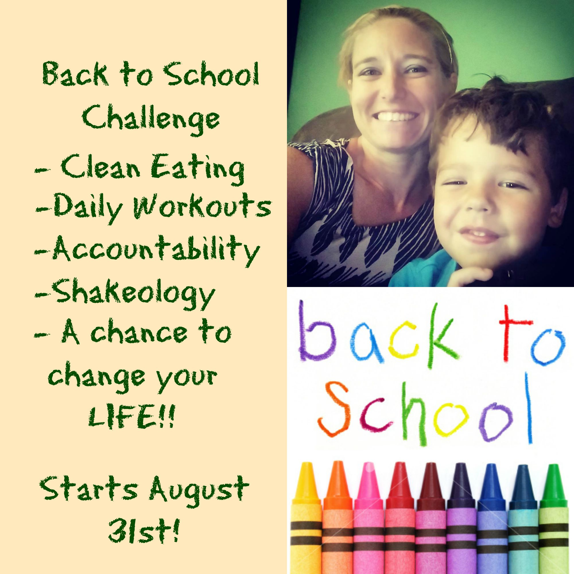 Back to School Challenge