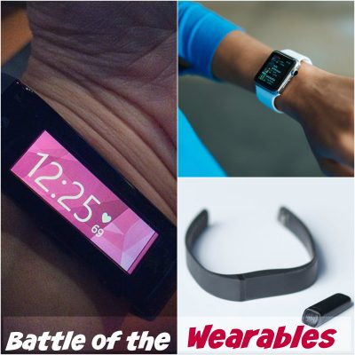 Battle of the Wearables Part 1: Apple Watch, Microsoft Band, and Fitbit Flex