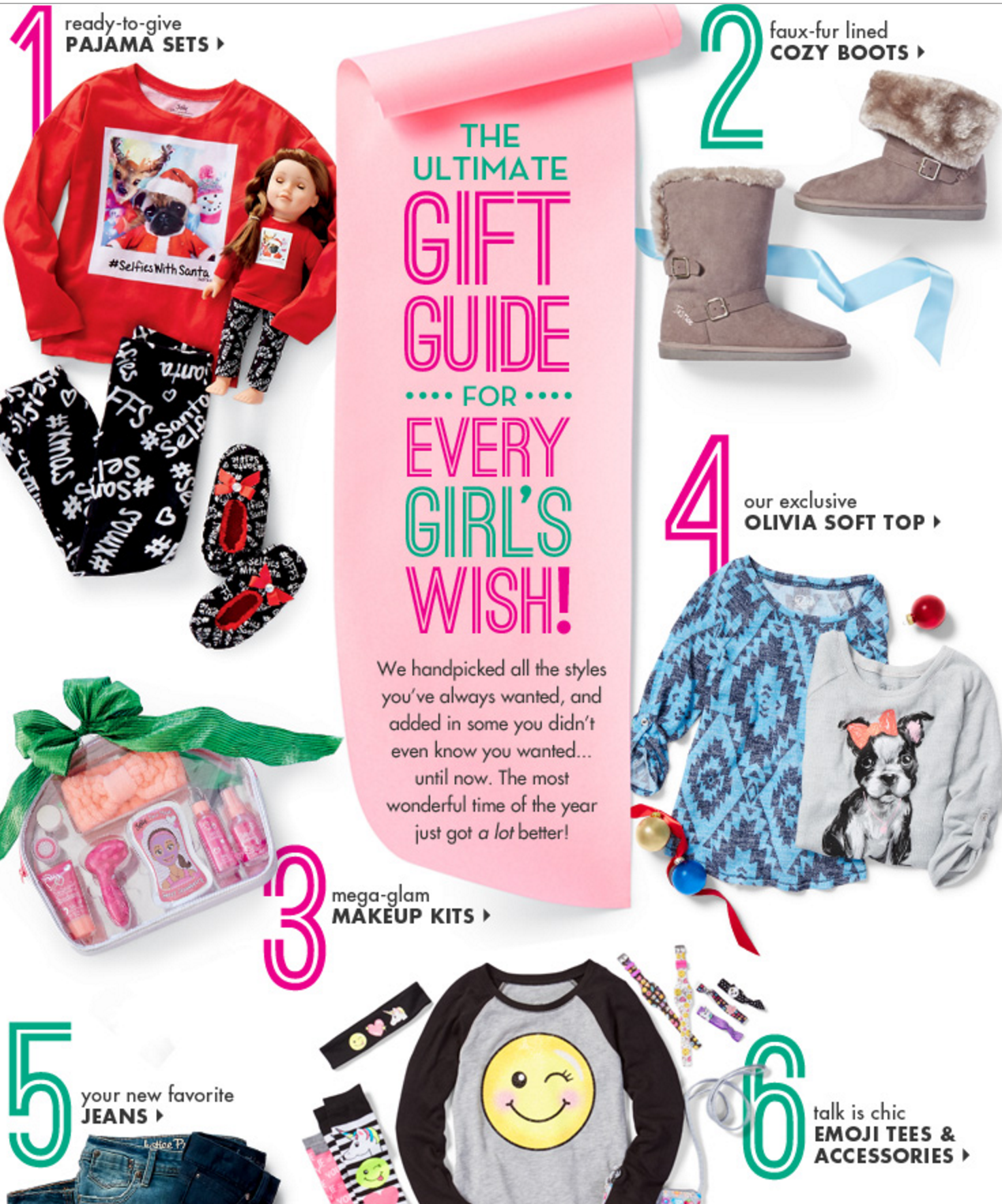justice holiday gift guide