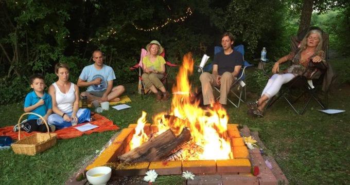 Summer Solstice Fire Puja