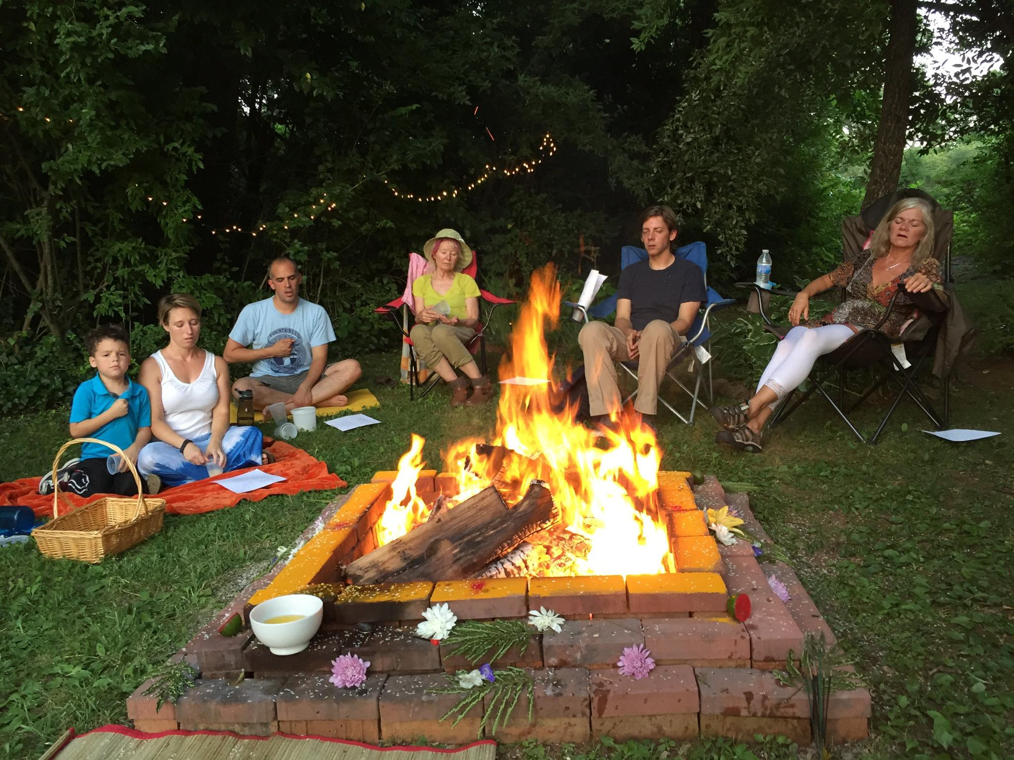 Summer Solstice Fire Puja