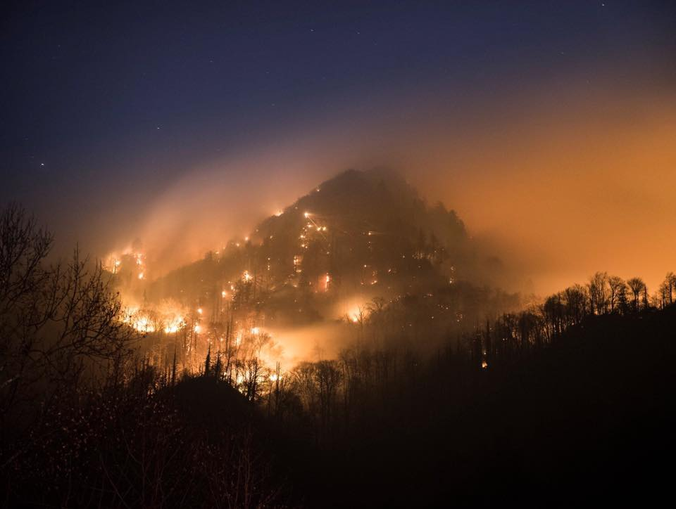 Wildfire in the Smokies and How You Can Help
