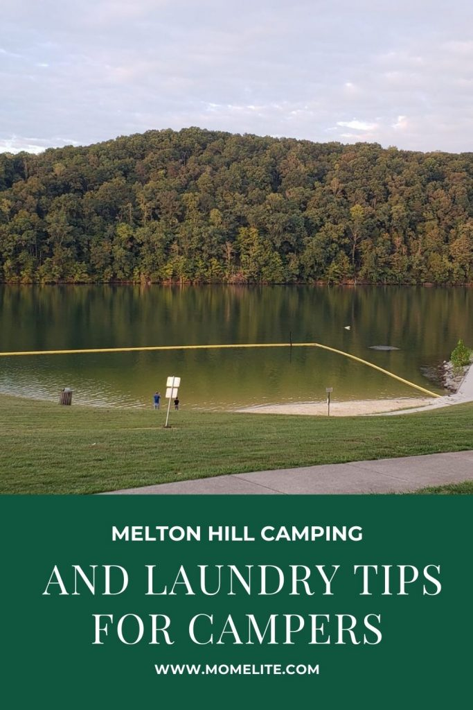 MELTON HILL CAMPING AND LAUNDRY TIPS FOR CAMPERS