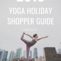 yoga holiday shopping guide