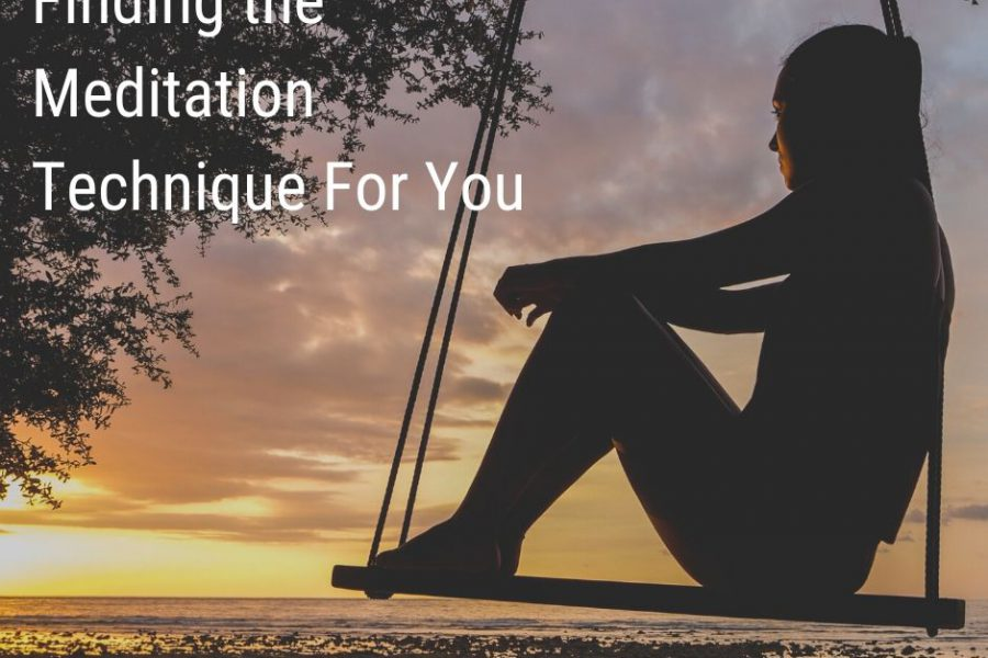 finding the right meditation technique for you