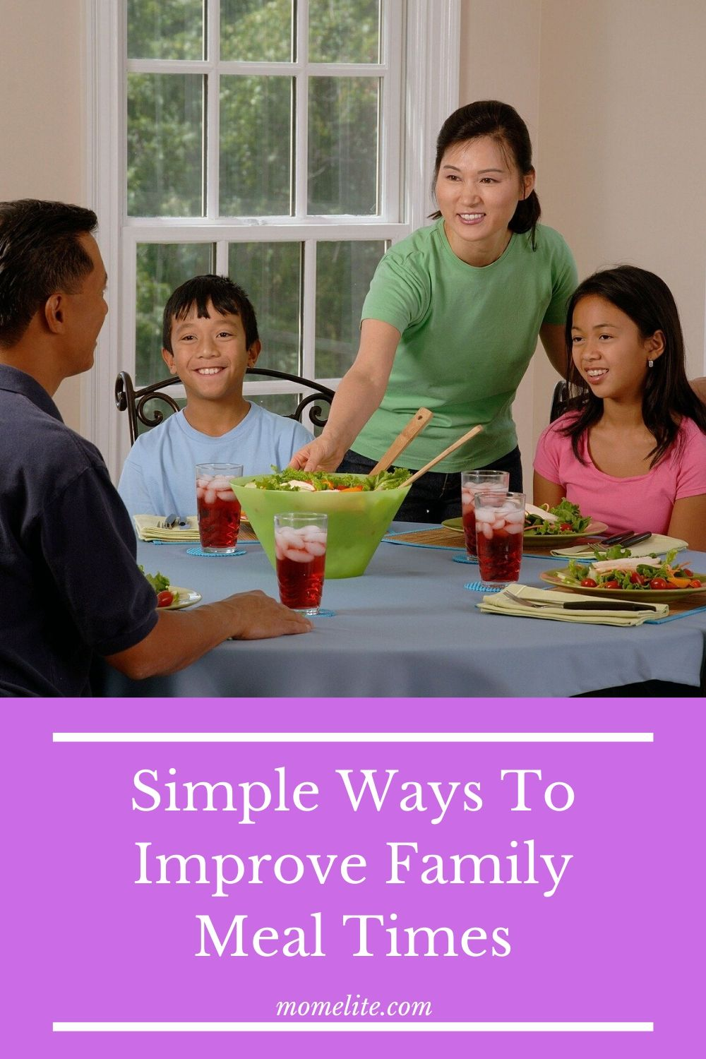 Simple Ways To Improve Family Meal Times