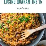 Goal Setting for Losing Quarantine 15