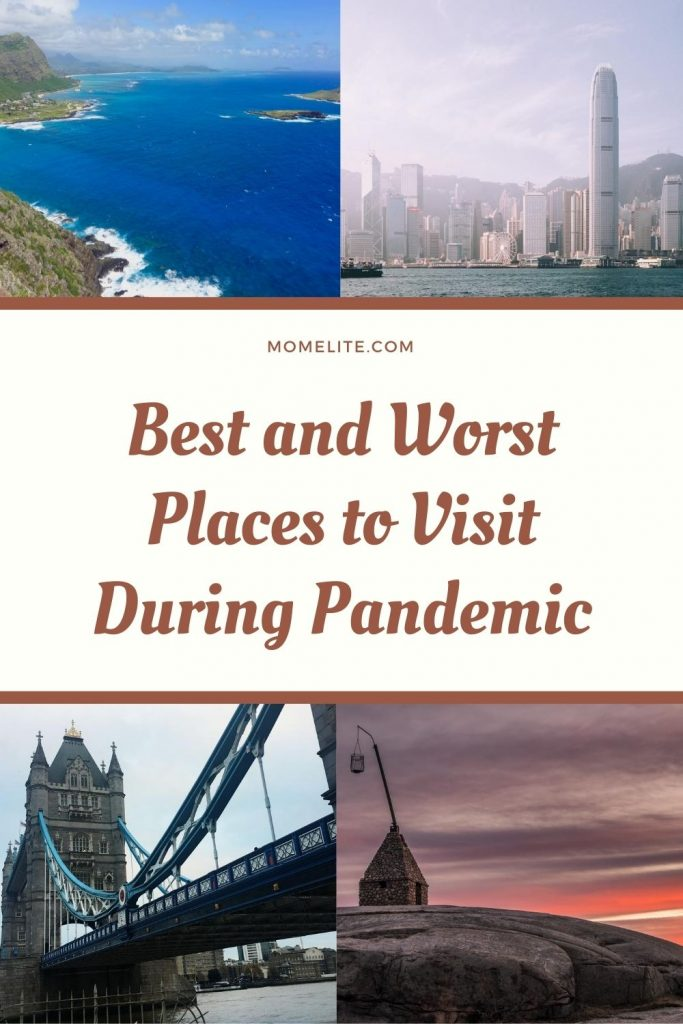 BEST AND WORST PLACES TO VISIT DURING PANDEMIC