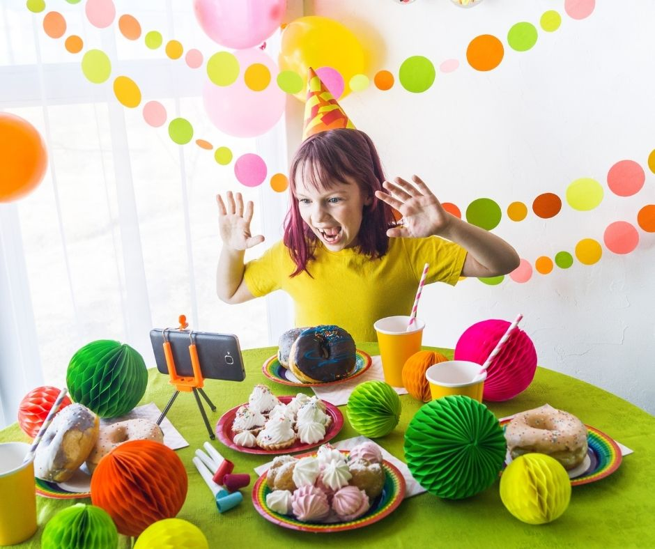 Social Distancing Birthday Party Ideas for Kids