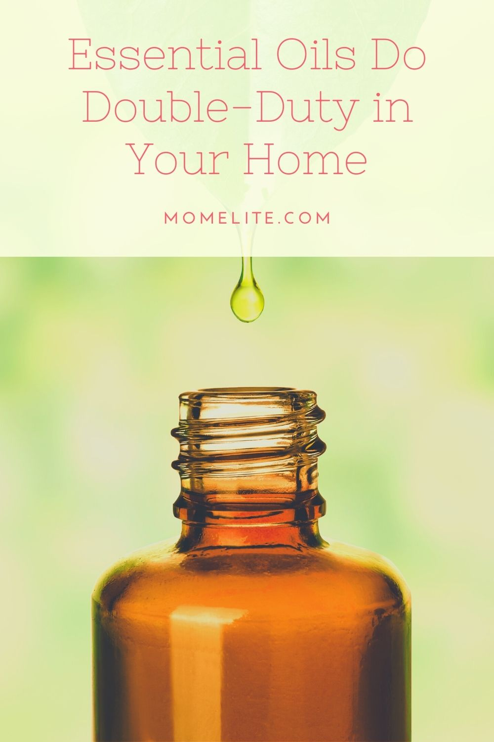 Essential Oils Do Double-Duty in Your Home
