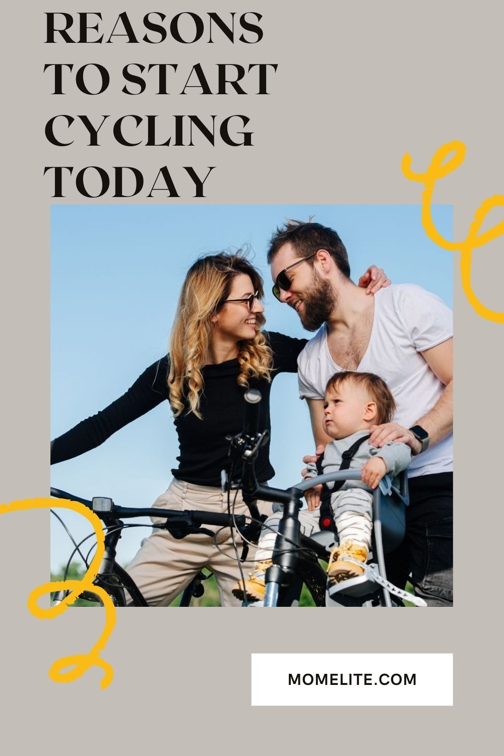 REASONS TO START CYCLING TODAY