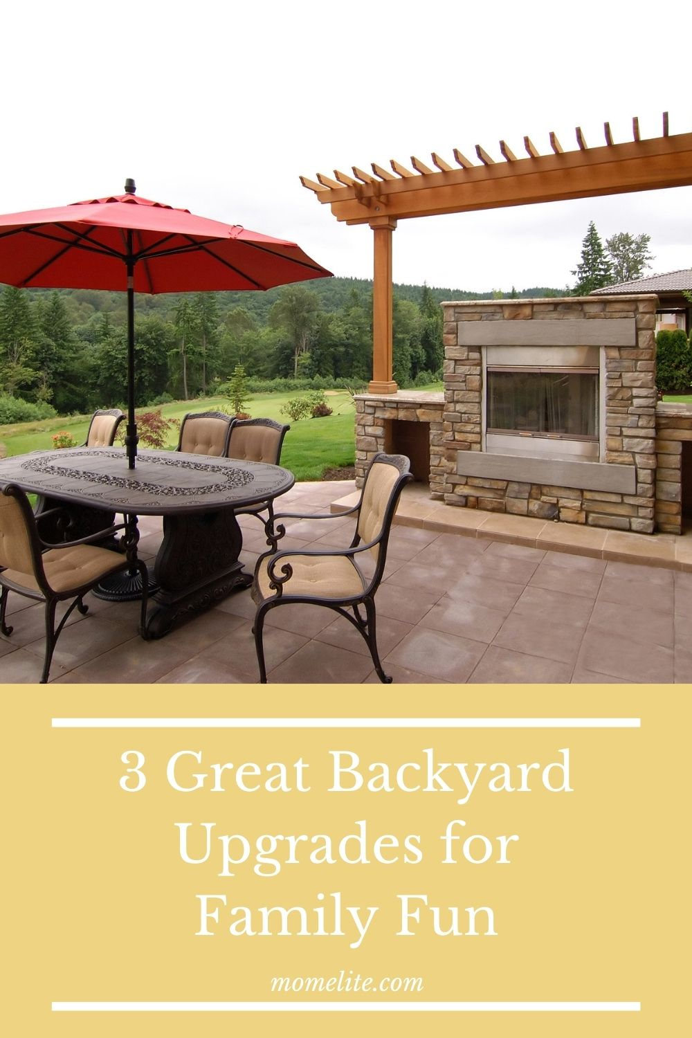 3 Great Backyard Upgrades for Family Fun