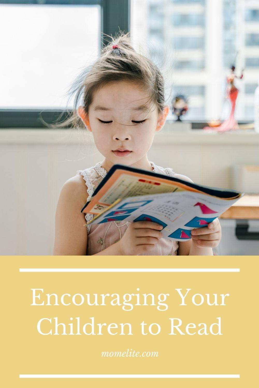 Encouraging Your Children to Read