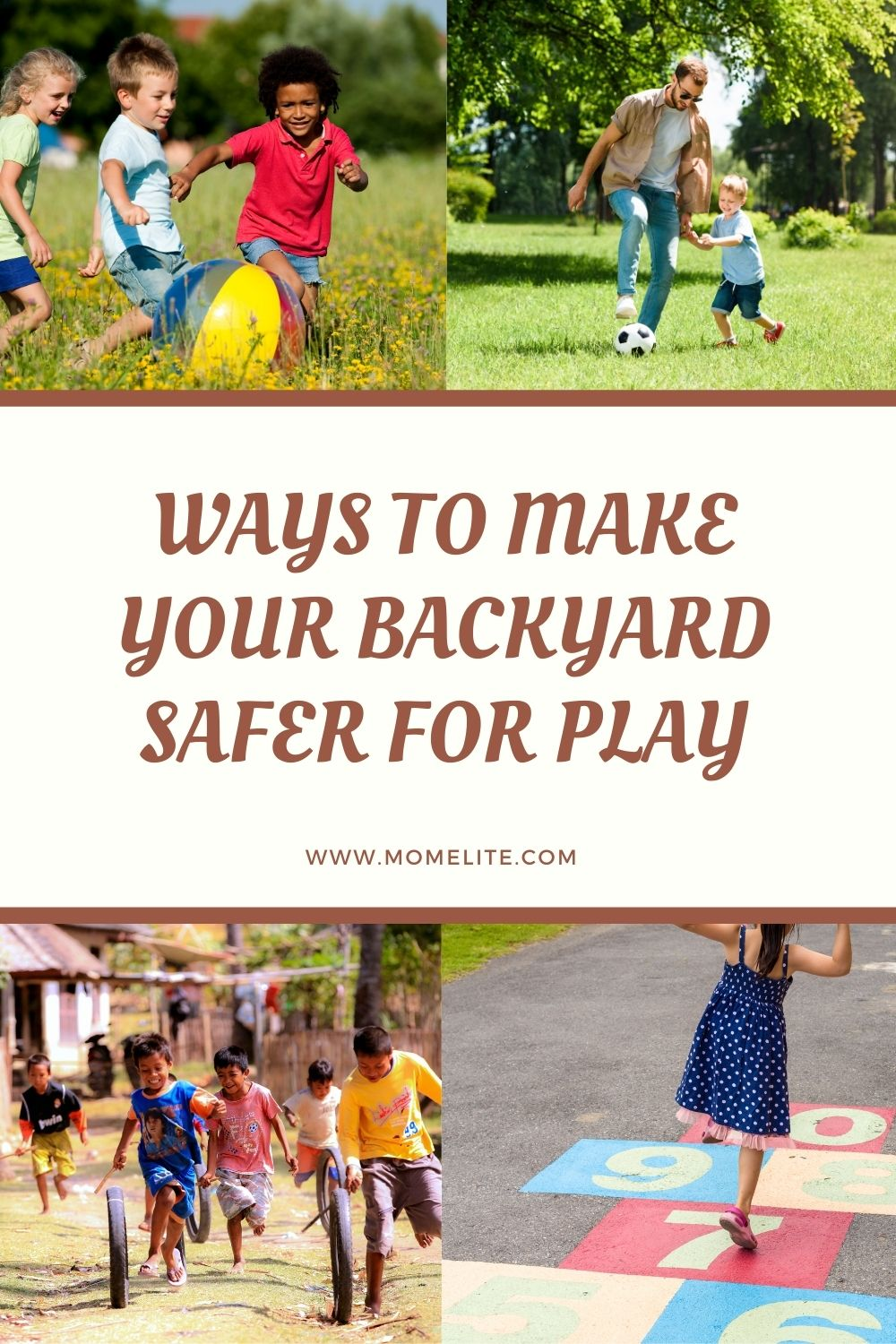 WAYS TO MAKE YOUR BACKYARD SAFER FOR PLAY