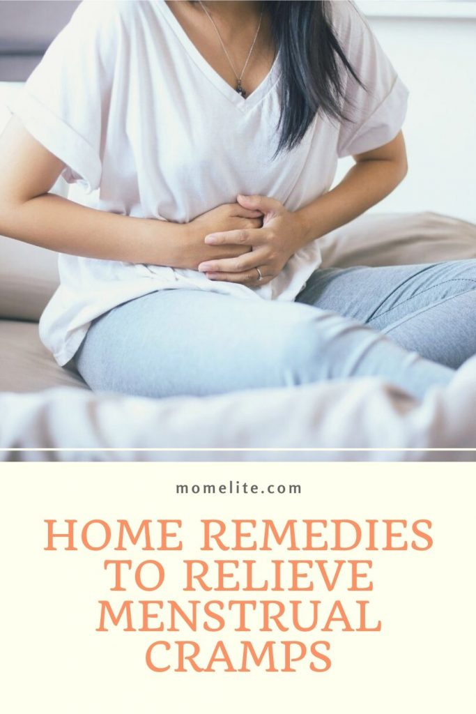 HOME REMEDIES TO RELIEVE MENSTRUAL CRAMPS