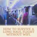 How To Survive A Long Haul Flight Without WiFi