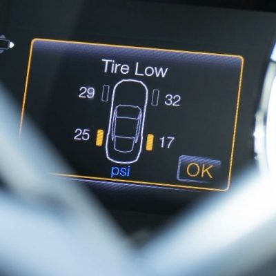 What To Do When the Low Tire Pressure Light Comes On