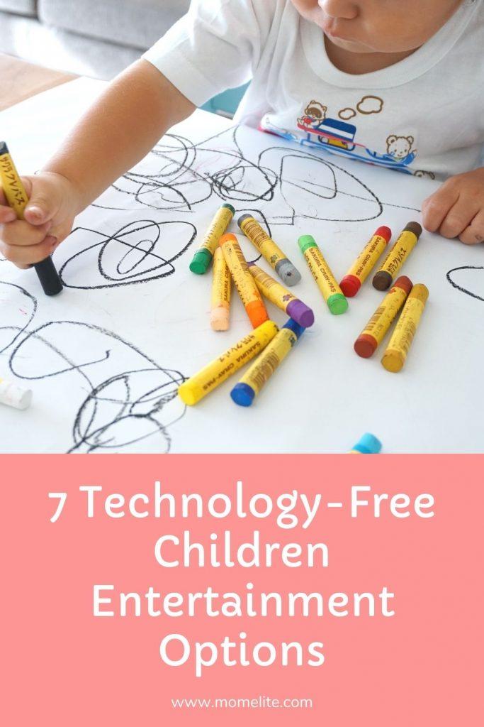 7 Technology-Free Children Entertainment Options