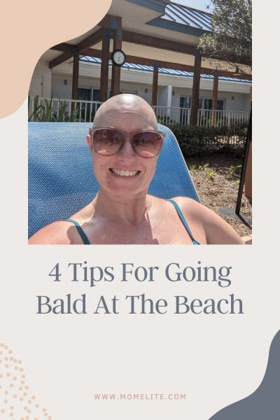 4 Tips For Going to the Beach Bald