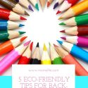 5 Eco-Friendly Tips for Back-to-School Shopping