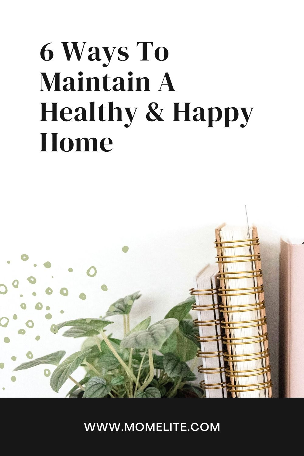 6 Ways To Maintain A Healthy & Happy Home