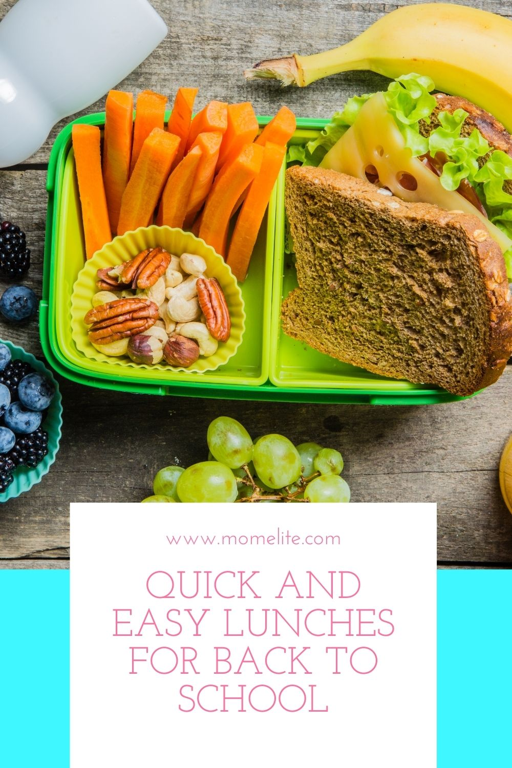 Quick and Easy Lunches For Back To School